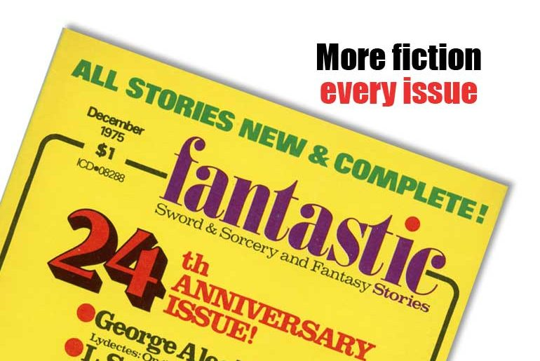 More fiction every issue