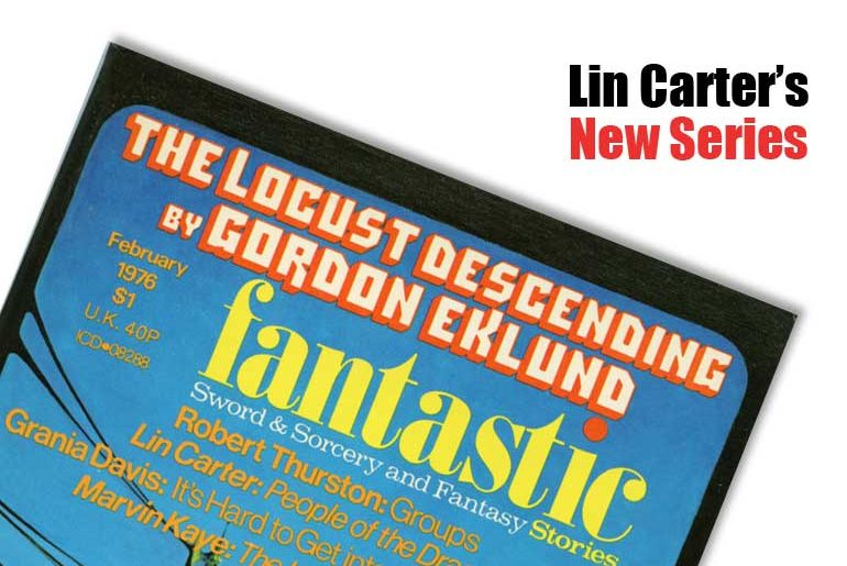Lin Carter's New Series