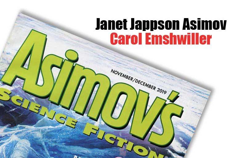 Janet Jappson Asimov Carol Emshwiller
