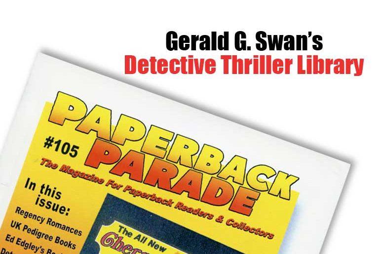 Gerald G. Swan's Detective Thriller Library