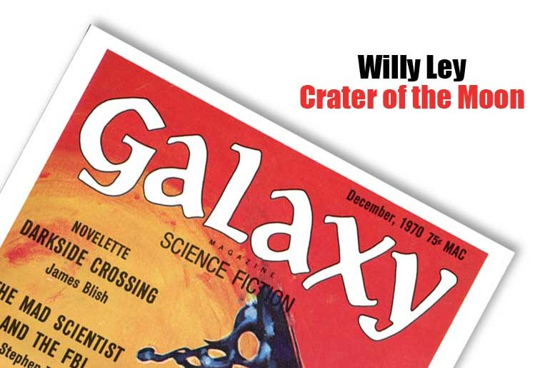 Willy Ley Crater of the Moon